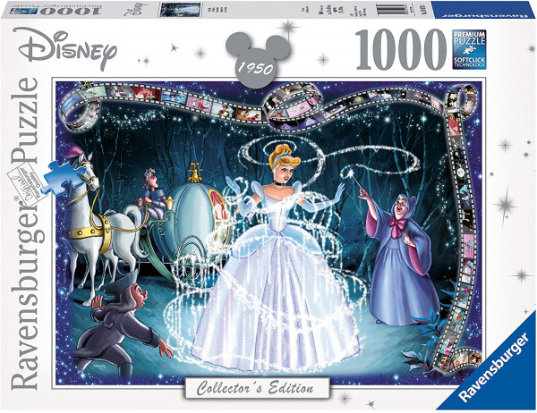 Ravensburger Puzzle - Disney: Cinderella 1000 Teile