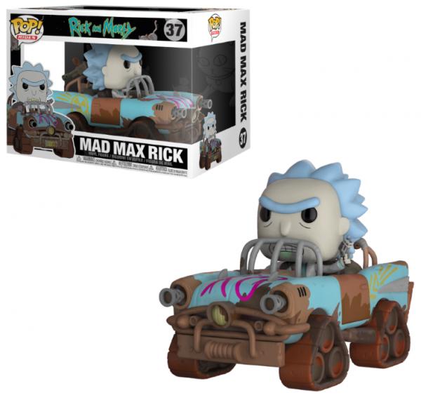 Funko POP! Animation - Rick & Morty: Mad Max Rick