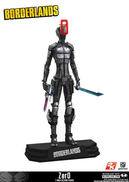 McFarlane Color Tops - Borderlands: Zer0 (18 cm)