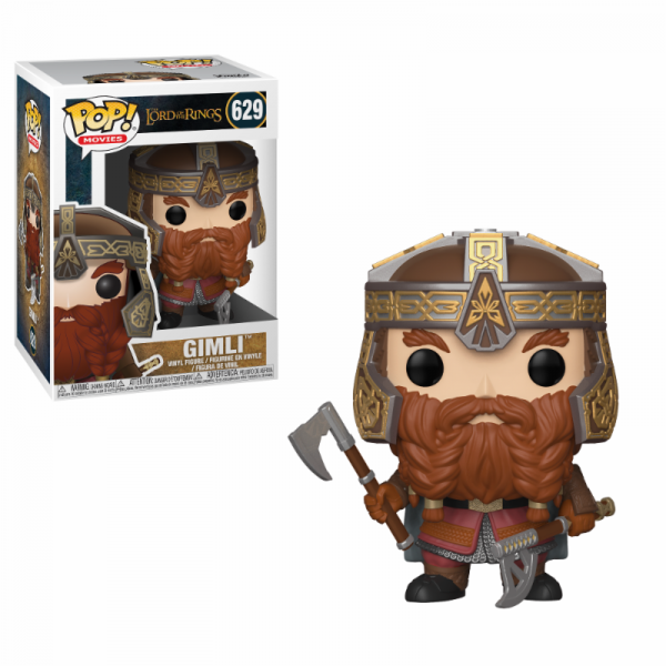 Funko POP! Movies - LOTR/Hobbit: Gimli