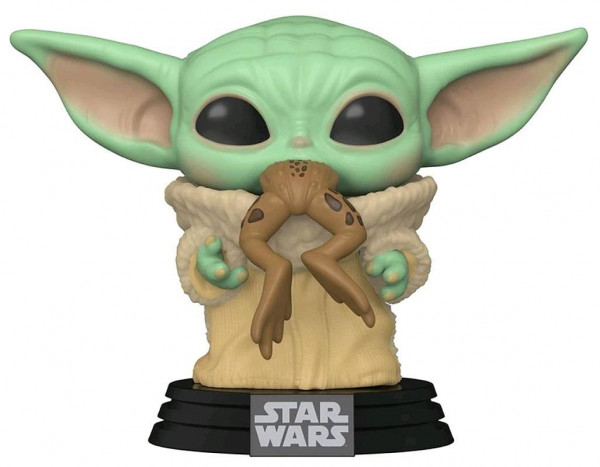 Funko POP! Star Wars The Mandalorian: The Child w/Frog