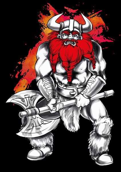 Lootgear - Cruel Worlds: Viking T-Shirt