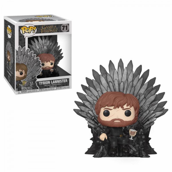 Funko POP! Game of Thrones: Tyrion on Iron Throne