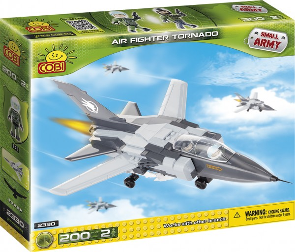 Cobi - 200 Teile SMALL ARMY 2330 AIR FIGHTER TORNADO