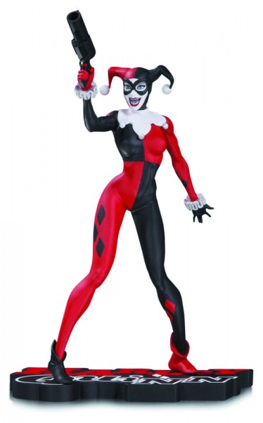 DC Collectibles - Red, White & Black: Harley Quinn by Jim Lee 17cm