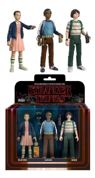 Funko TV - Stranger Things: Eleven, Lucas, Mike 3-Pack