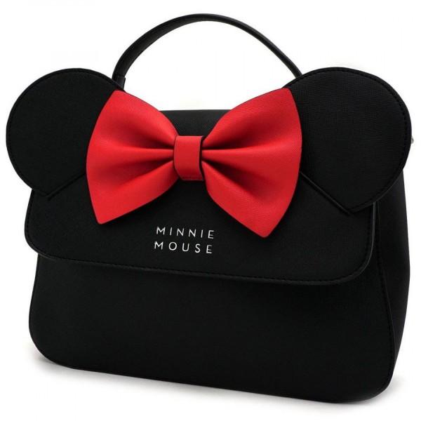 Loungefly - Disney: Minnie Mouse Ohren Umhängetasche