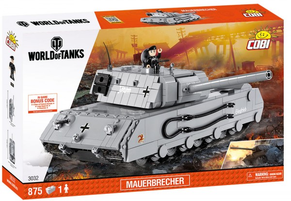 Cobi - 875 Teile SMALL ARMY 3032 WOT MAUERBRECHER