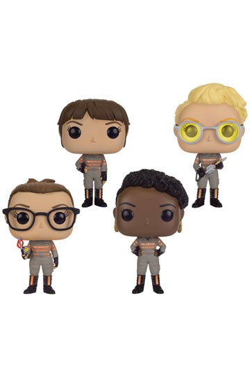 Funko POP! Movies - Ghostbusters 4er-Pack