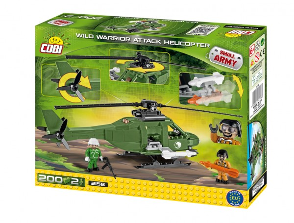 Cobi - 200 Teile SMALL ARMY 2158 WILD WARRIOR ATTACK HE